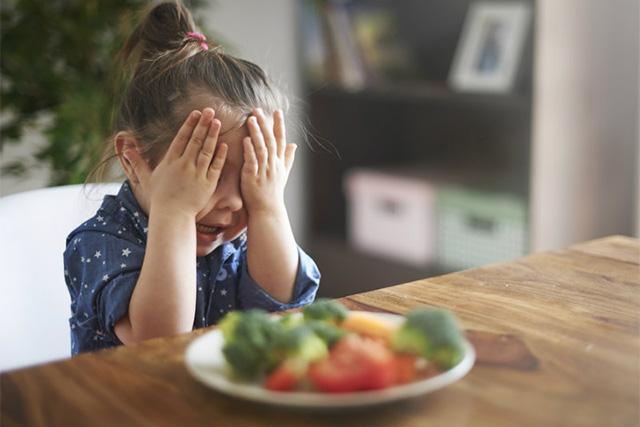 野菜が嫌いな子供