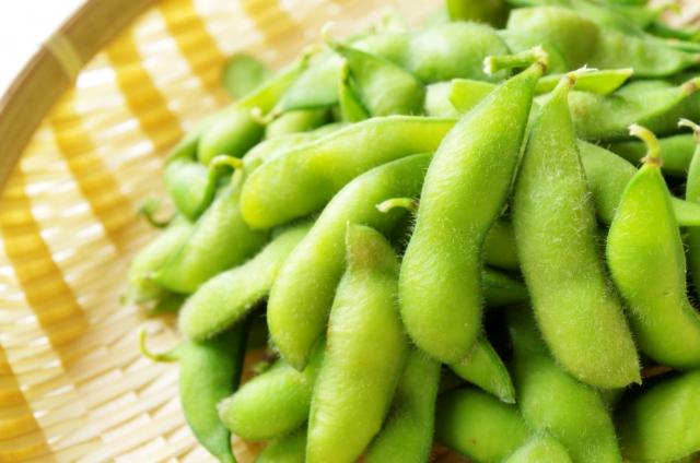 茹でたての枝豆